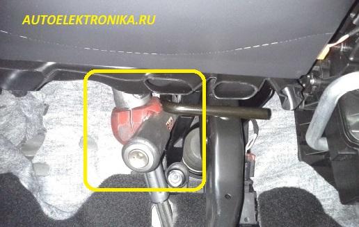 Установка сигнализация на шкоду октавия форум фото 606-694